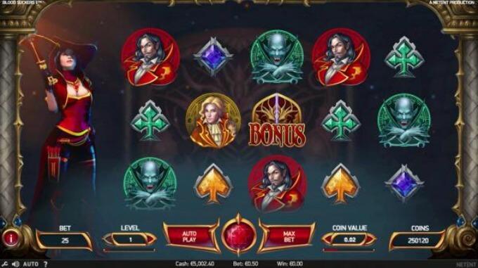 características juego blood suckers 2