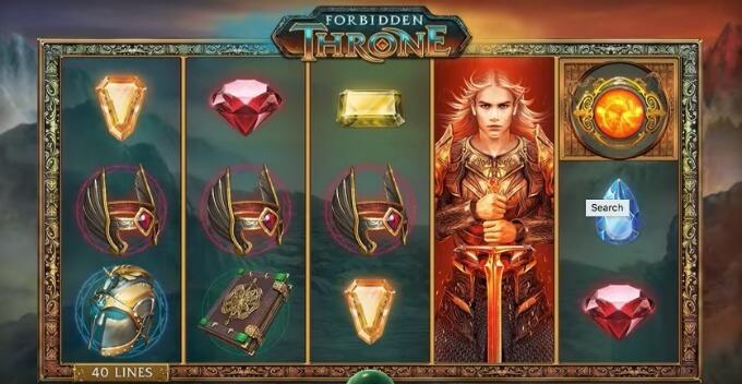 forbidden throne simbolos y combinaciones