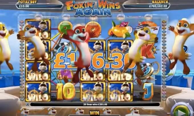foxin wins again volatilidad