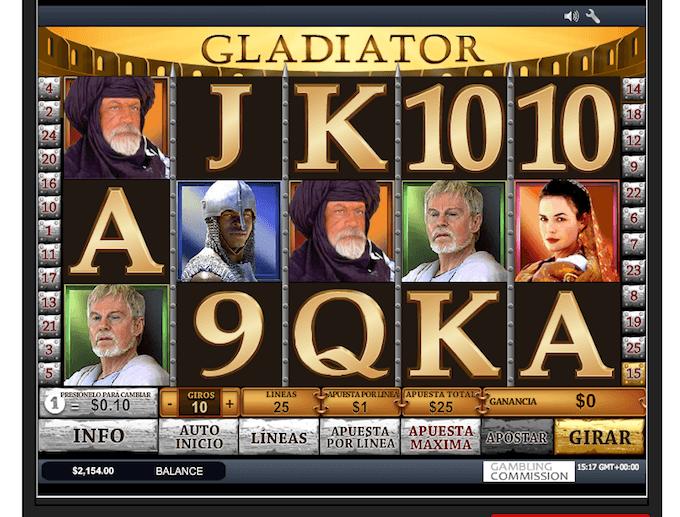 casino jugar gladiator