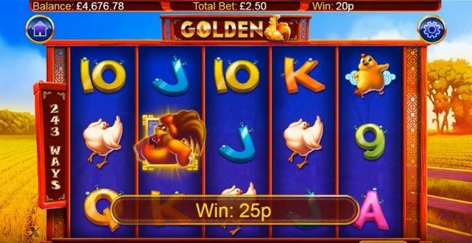 caracteristicas golden tragamonedas gallina de los huevos de oro