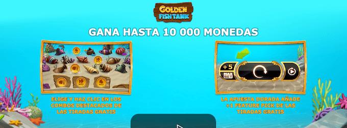 golden fish tank dos modos de juego