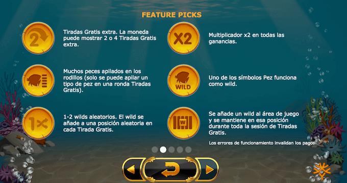 golden fish tank juego slot especial