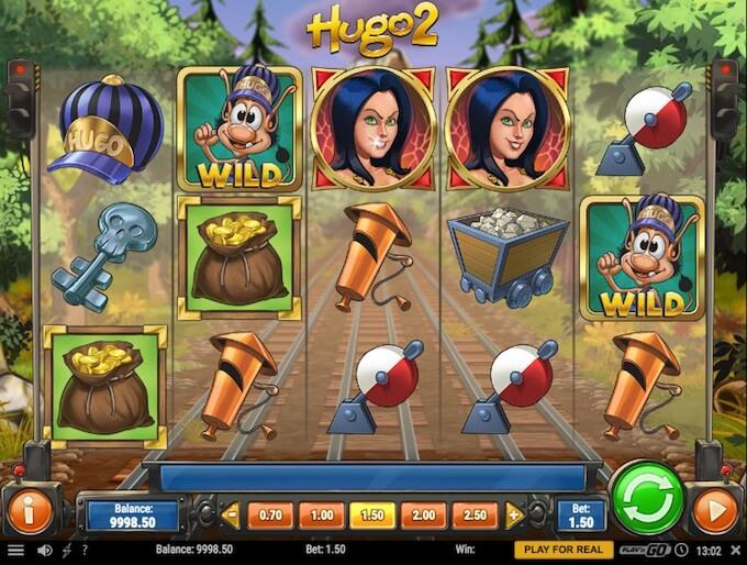 caracteristicas juego slot hugo 2