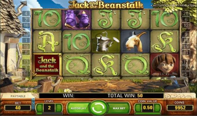 graficos jack y las judias magicas
