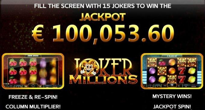 jackpot juego slot joker millions