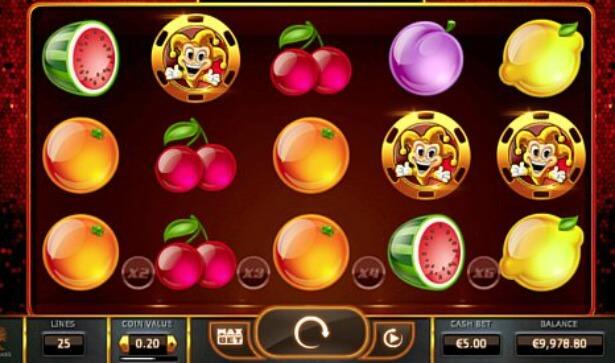 símbolos juego tragamonedas joker millions