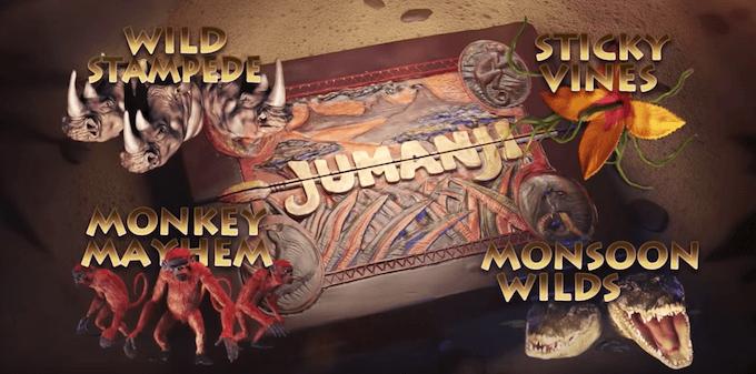 4 modos de juego jumanji tragaperras