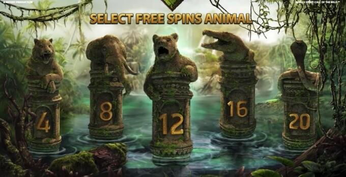 simbolos giros gratis Jungle Spirit: Call of the Wild