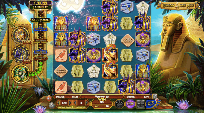 legend of the nile betsoft giros gratis