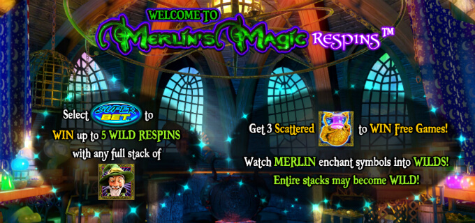 merlin magic respins giros gratis