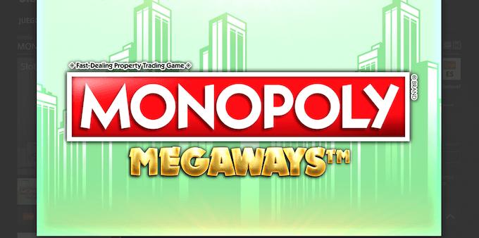 Tragamonedas Monopoly Megaways