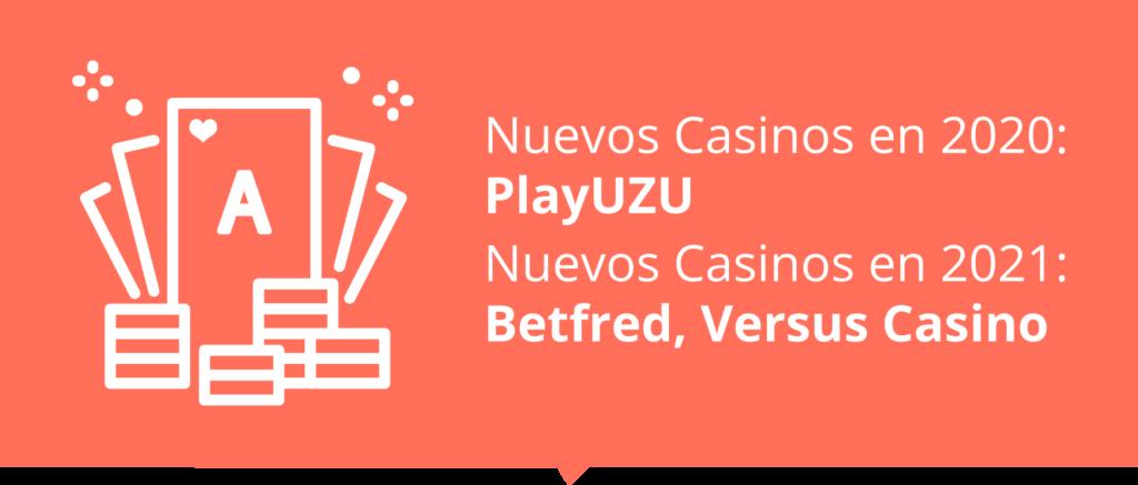 Nuevos Casinos en España