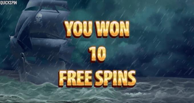pirates charm quickspin giros gratis