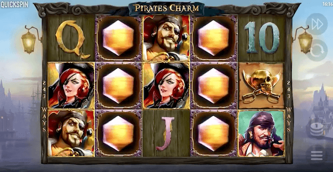 Pirates Charm quickspin mystery symbols