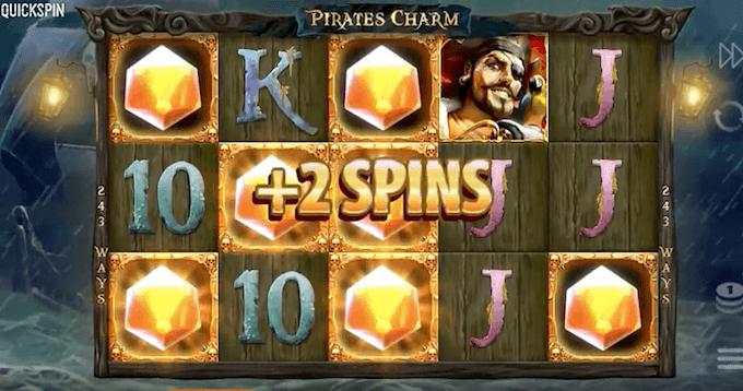 pirates charm quickspin respins
