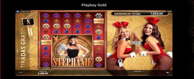 Playboy Gold Giros Gratis
