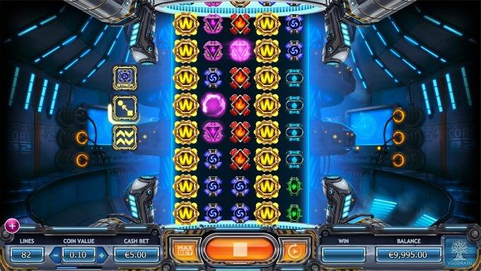 caracteristicas juego slot power plants