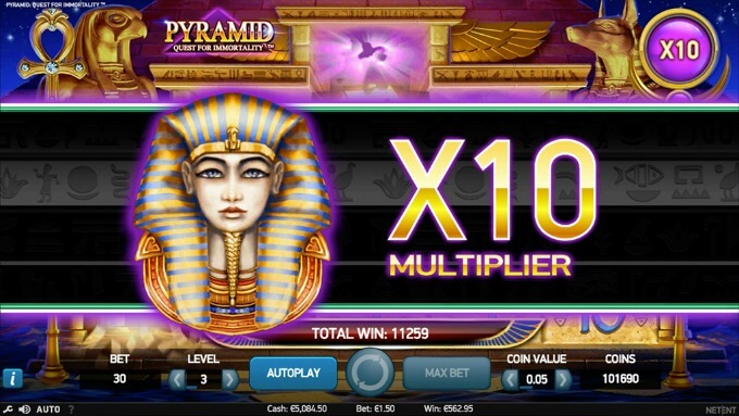 juego slot Pyramid Quest for Immortality