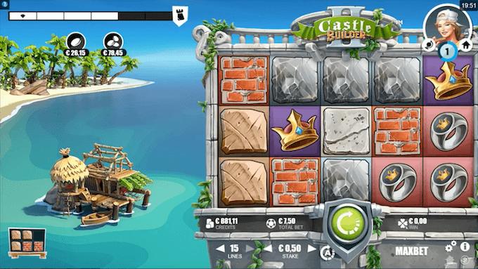 Castle Builder 2 juego tragamonedas