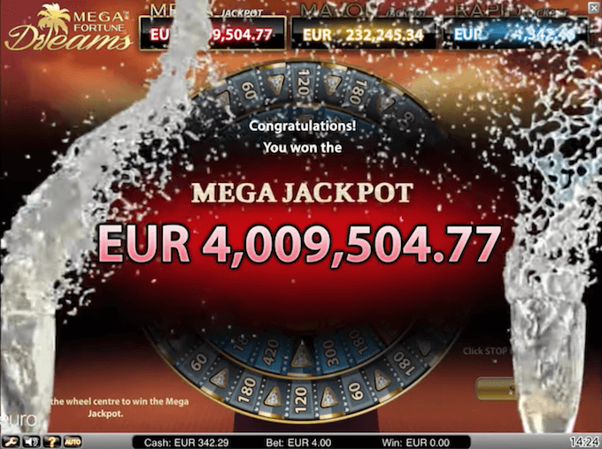jackpot slot mega fortune dreams