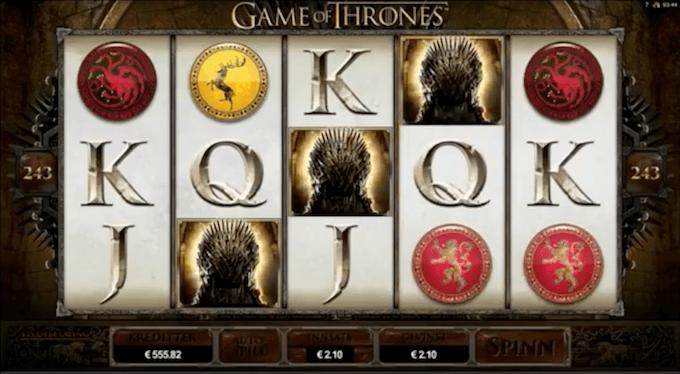 juego de tronos slot online