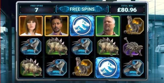 juego slot jurassic world