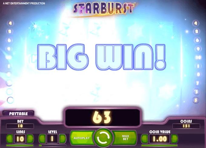 juego slot starburst