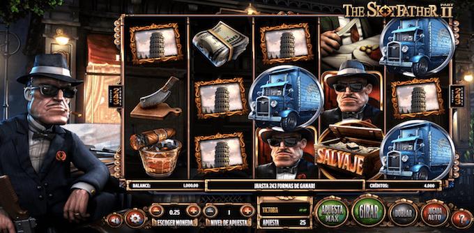 slotfather 2 características del juego tragamonedas