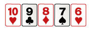 Escalera en poker