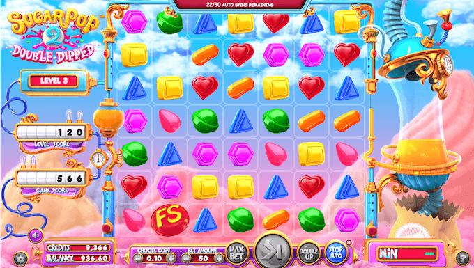sugar pop características simbolos