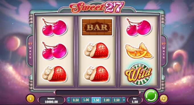 caracteristicas juego slot sweet 27