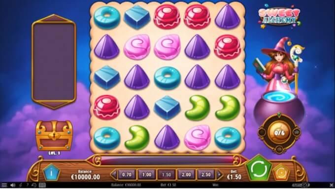sweet alchemy simbolos juego base