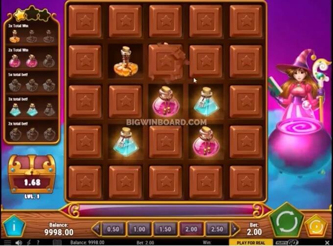 sweet alchemy juego bonificacion niveles