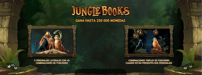 juego slot libro de la selva caracteristicas especiales