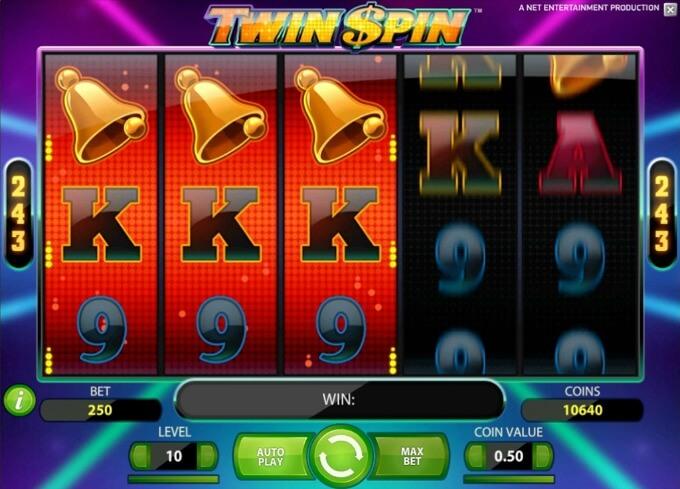 características juego twin spin