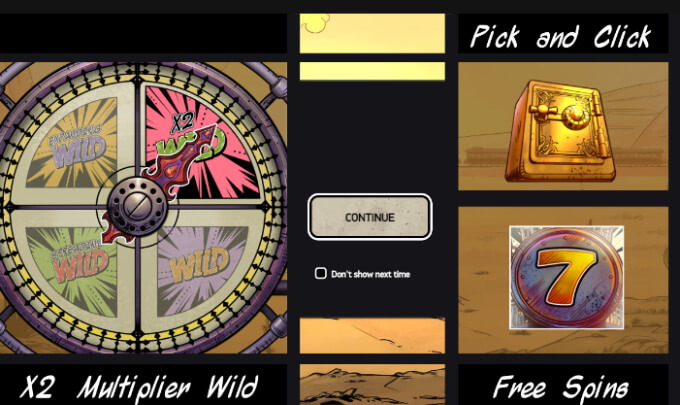 wild wild west ruleta pick and click