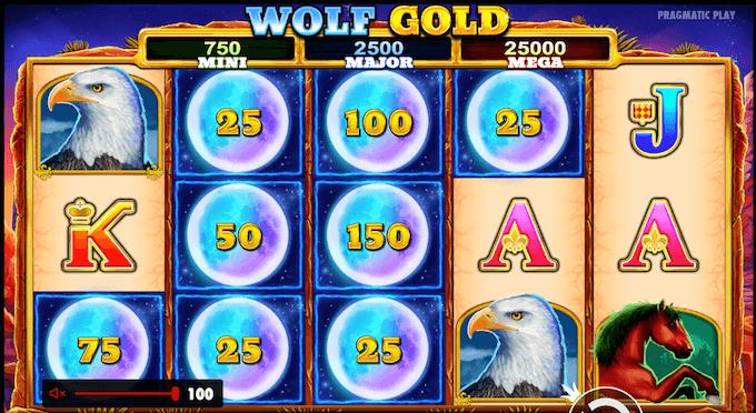 wolf gold volatilidad y jackpot